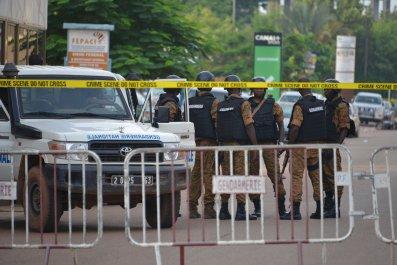 Burkina Faso police