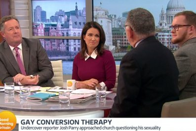 Piers Morgan and Mike Davidson on GMB
