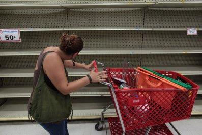 Puerto Rico empty shelves