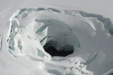 Iceland hole