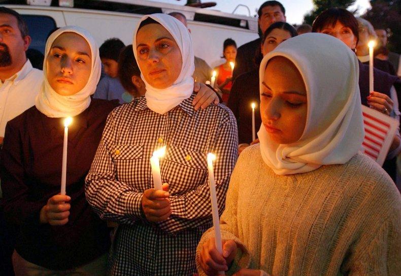 Muslims at 9/11 memorial