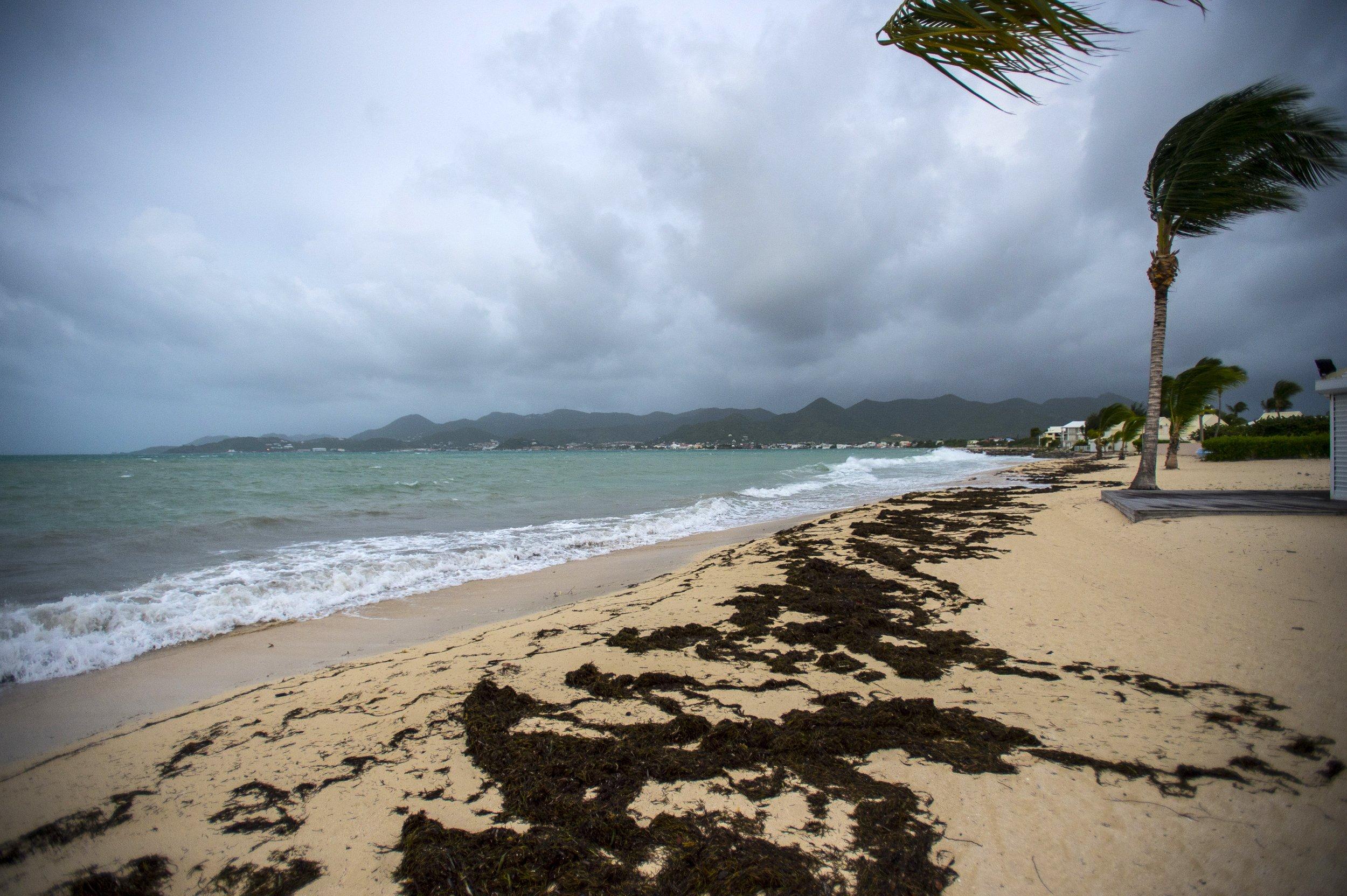 Saint Martin before Hurricane Irma