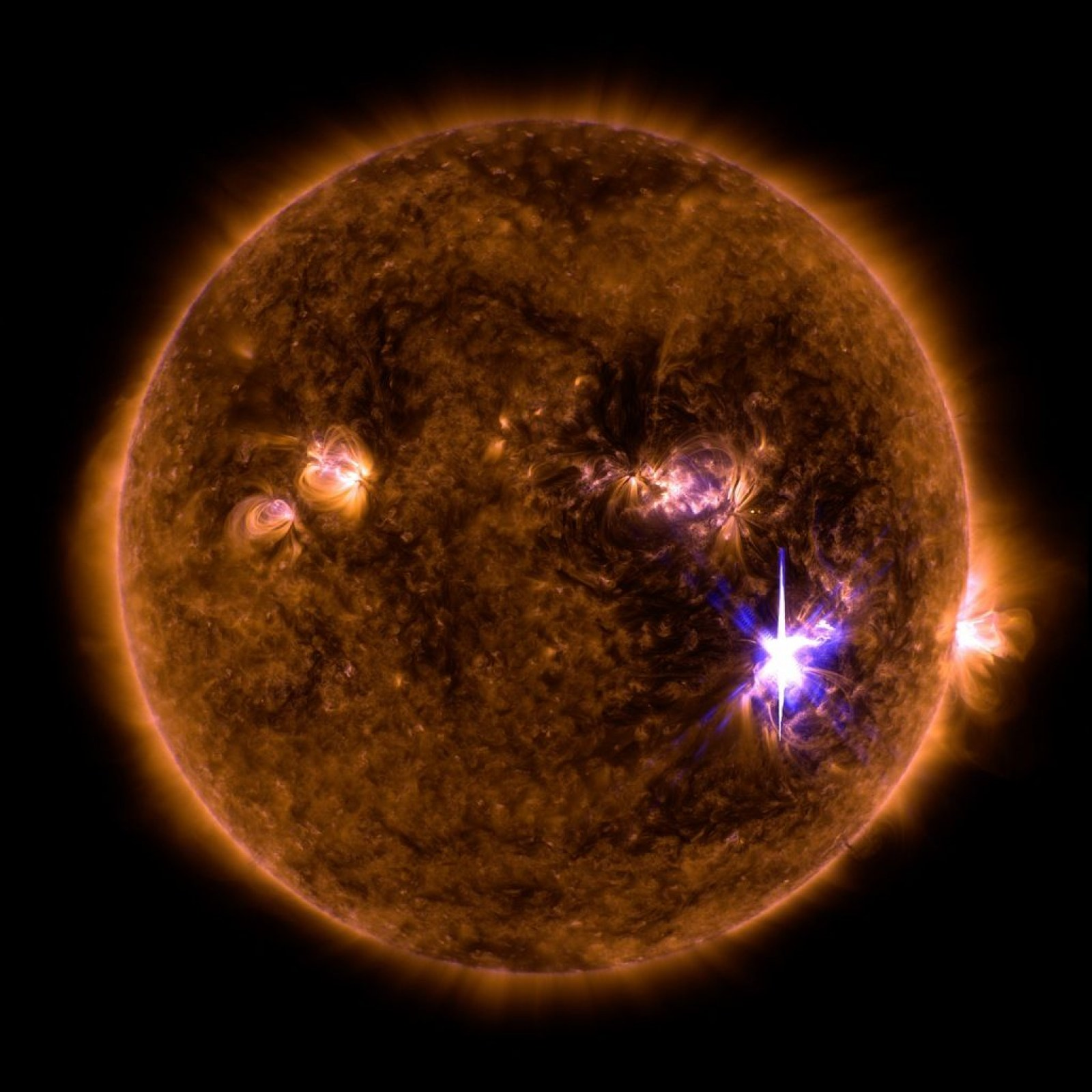 massive sunspots and solar flares: the sun has gone wrong and scientists  don't know why