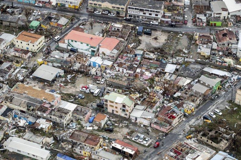hurricane irma wreckage