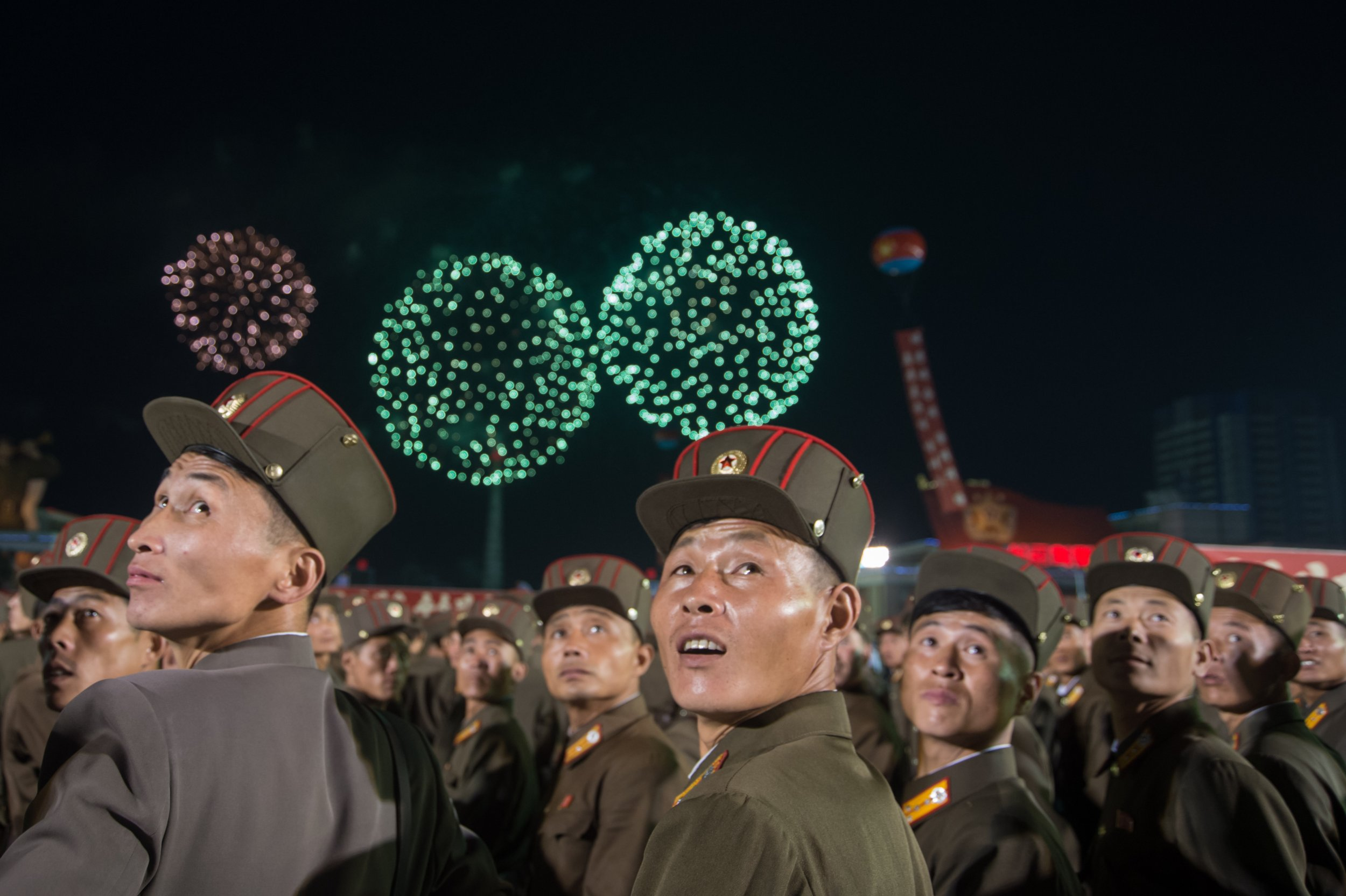 North Korea celebrates