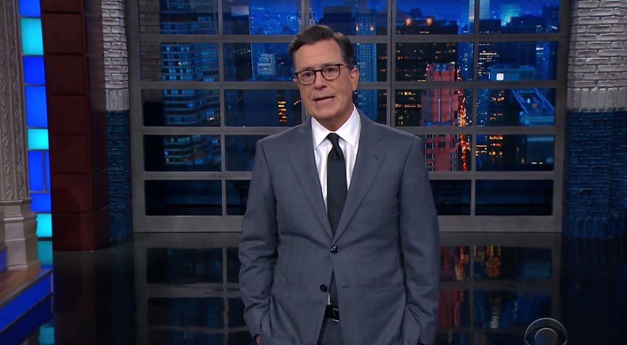"Colbert on Ivanka calling Trump ""daddy"""