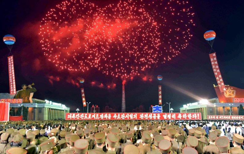 Pyongyang celebrates nuclear test