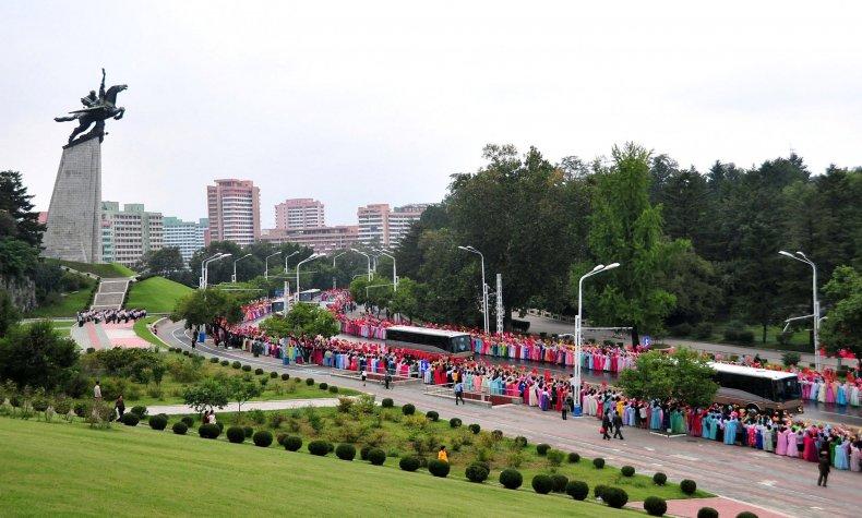 Pyongyang celebrates nuclear test  4