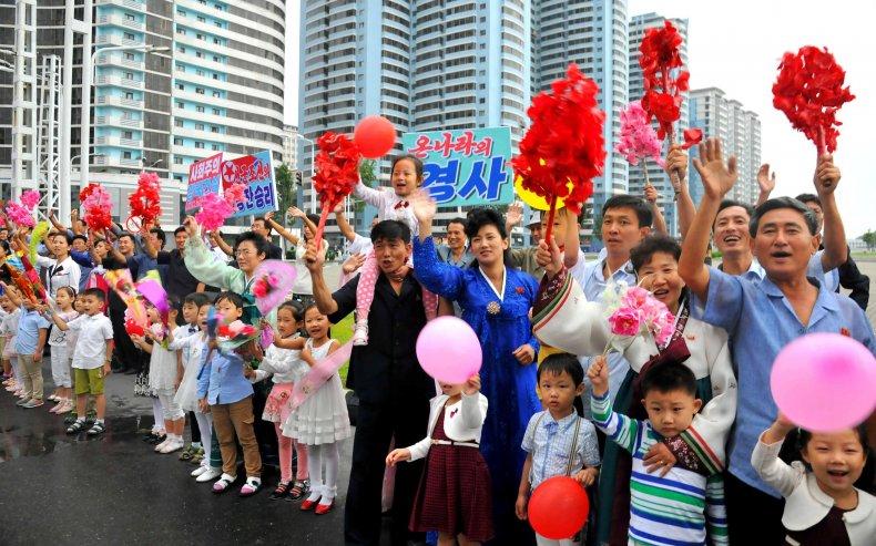 Pyongyang celebrates nuclear test 5