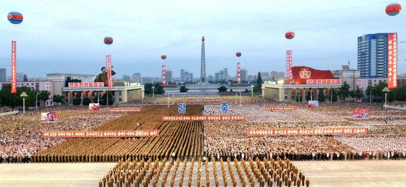 Pyongyang celebrates nuclear test 6