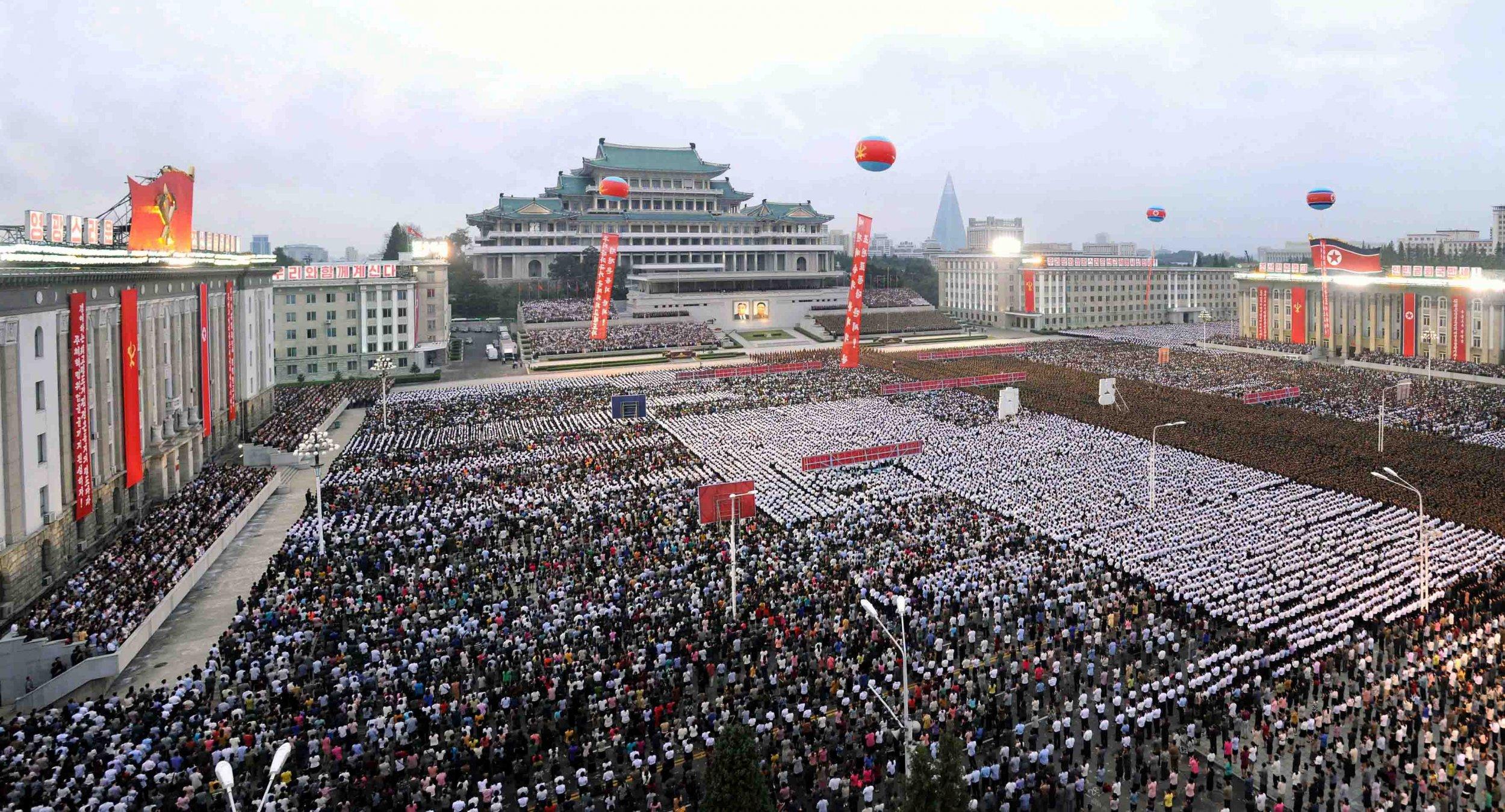 Pyongyang celebrates nuclear test 7