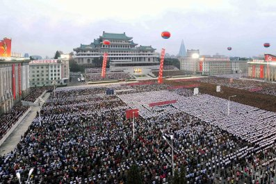 Pyongyang celebrates nuclear test 7