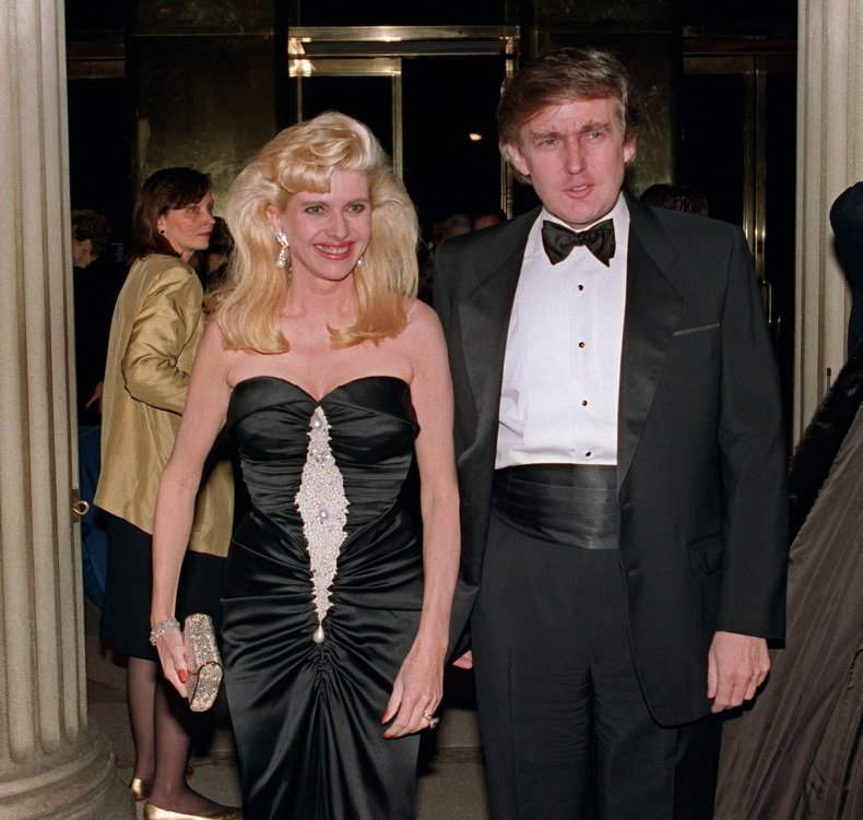 Trump and Ivana Trump