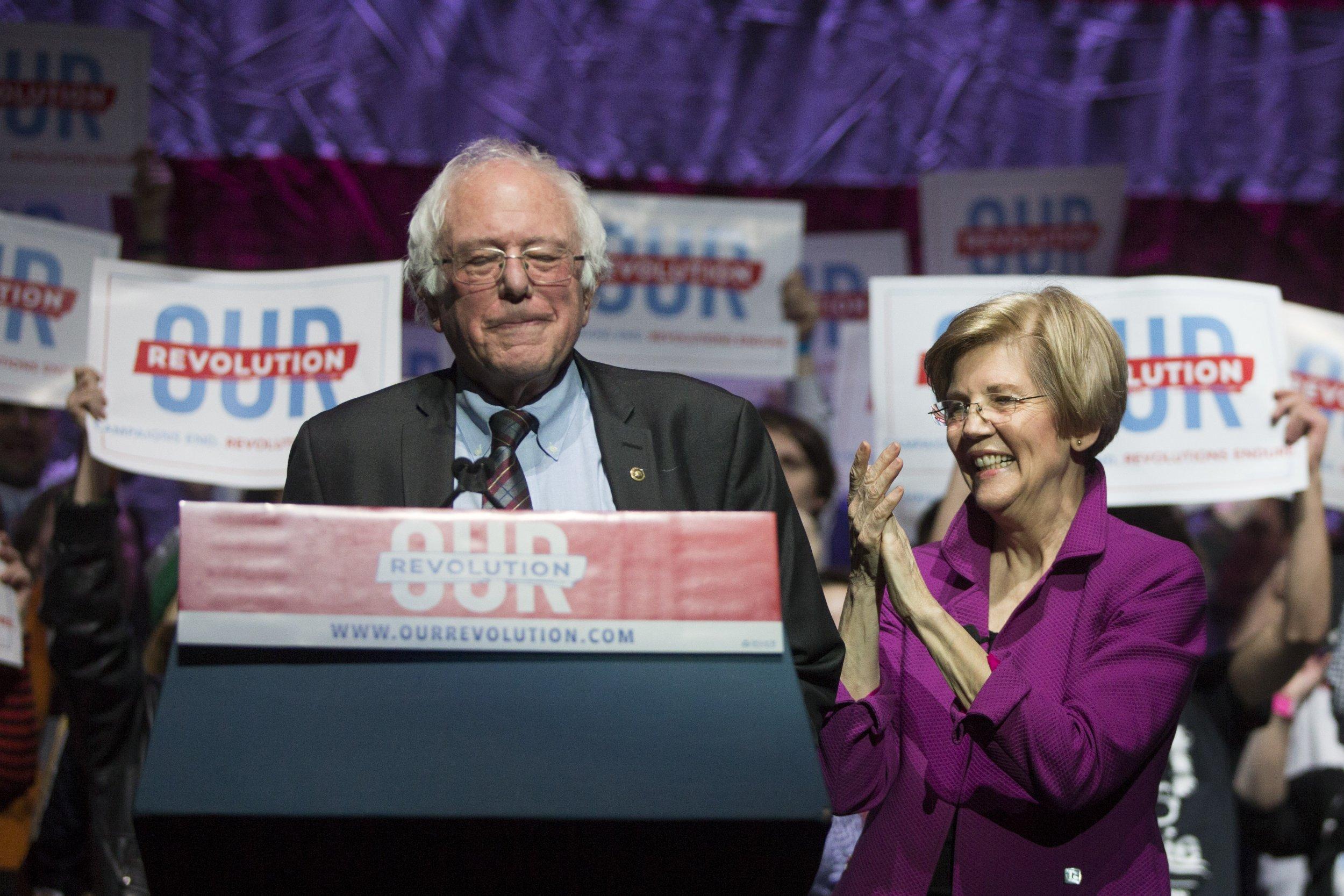 07_09_Elizabeth Warren_Bernie Sanders_Medicare