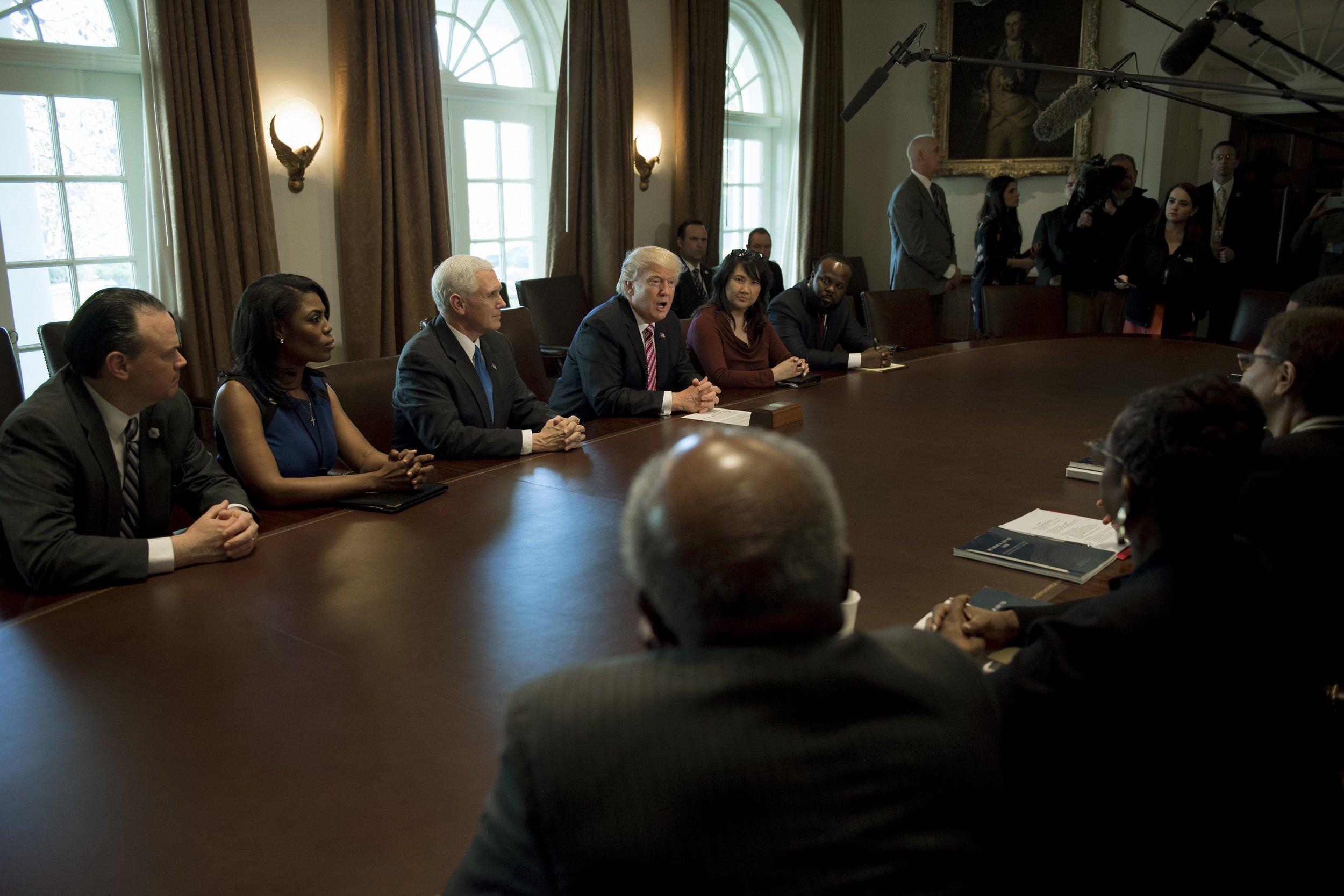 Donald Trump, Congressional Black caucus