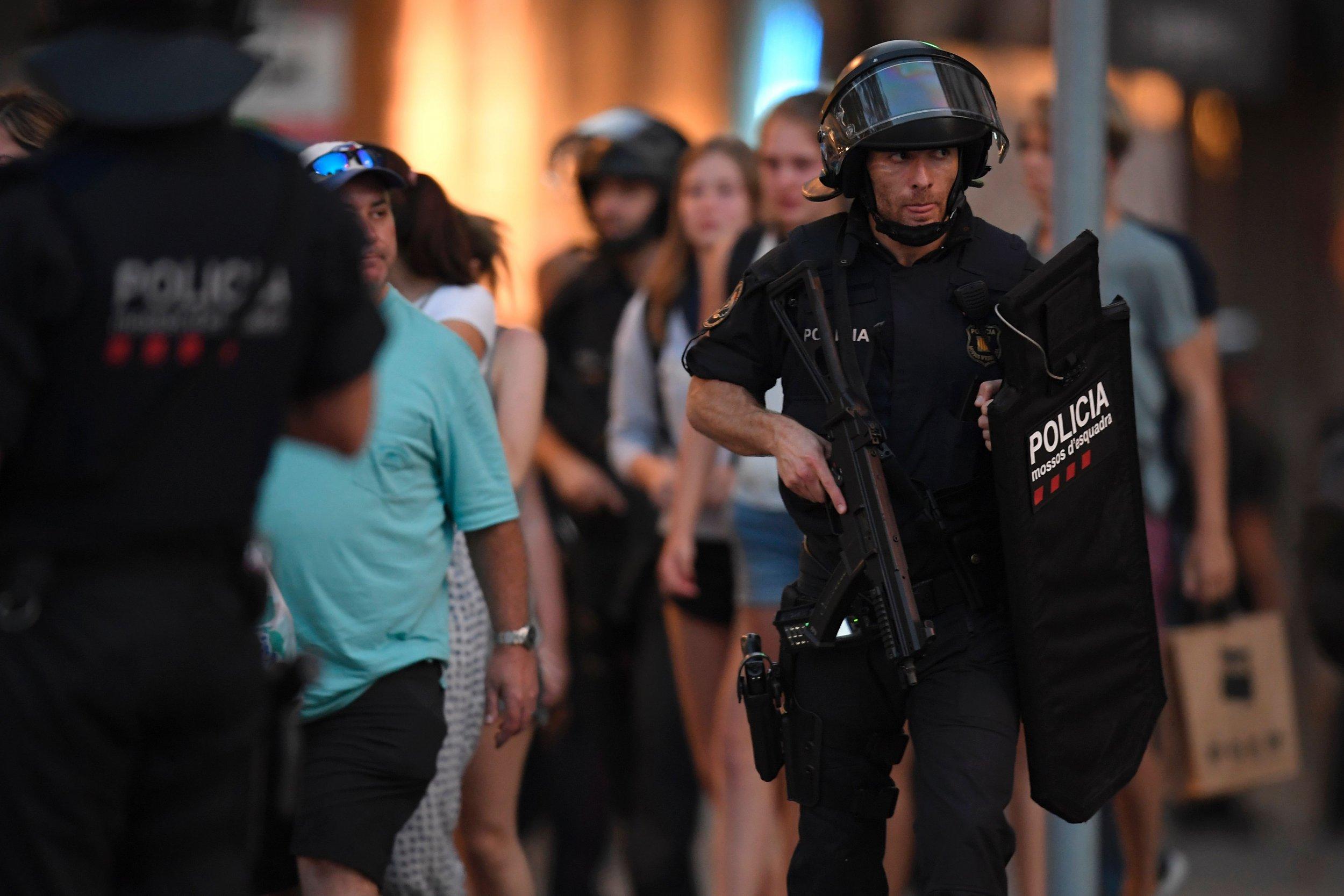 Barcelona security