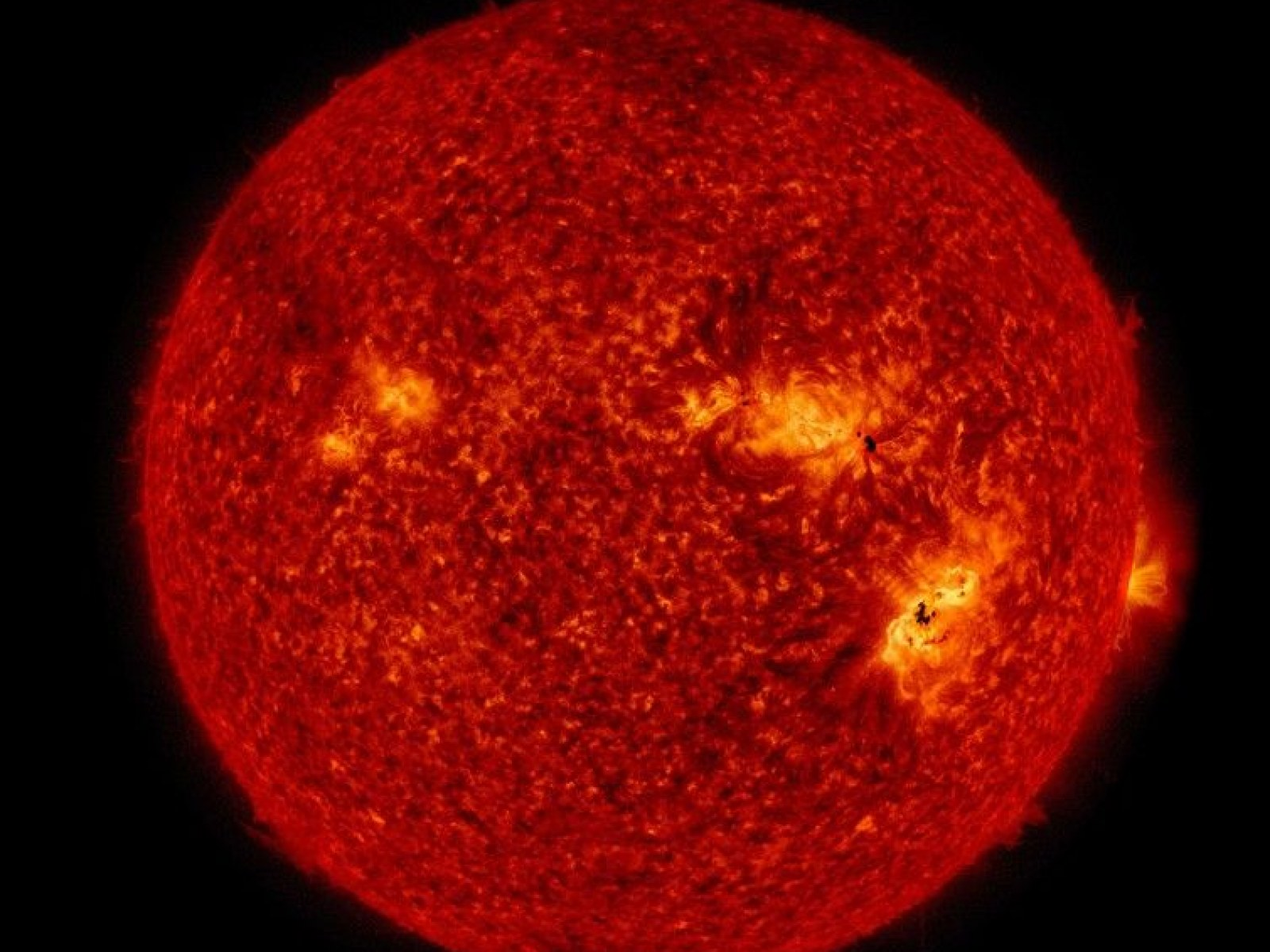 Massive Sunspots and Solar Flares: The Sun Has Gone Wrong