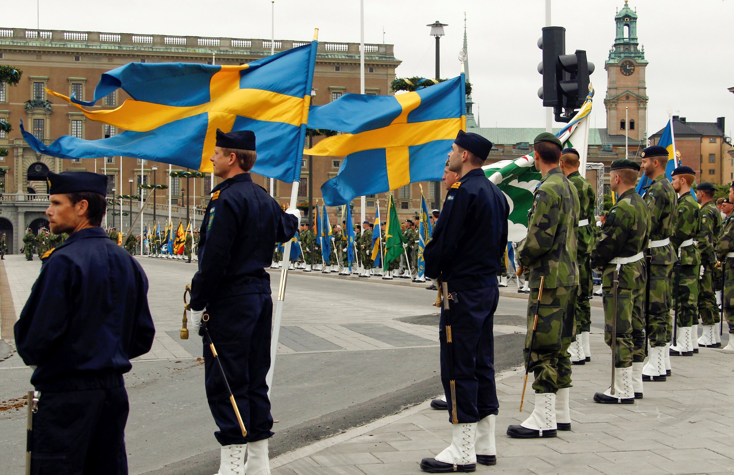 Swedish forces