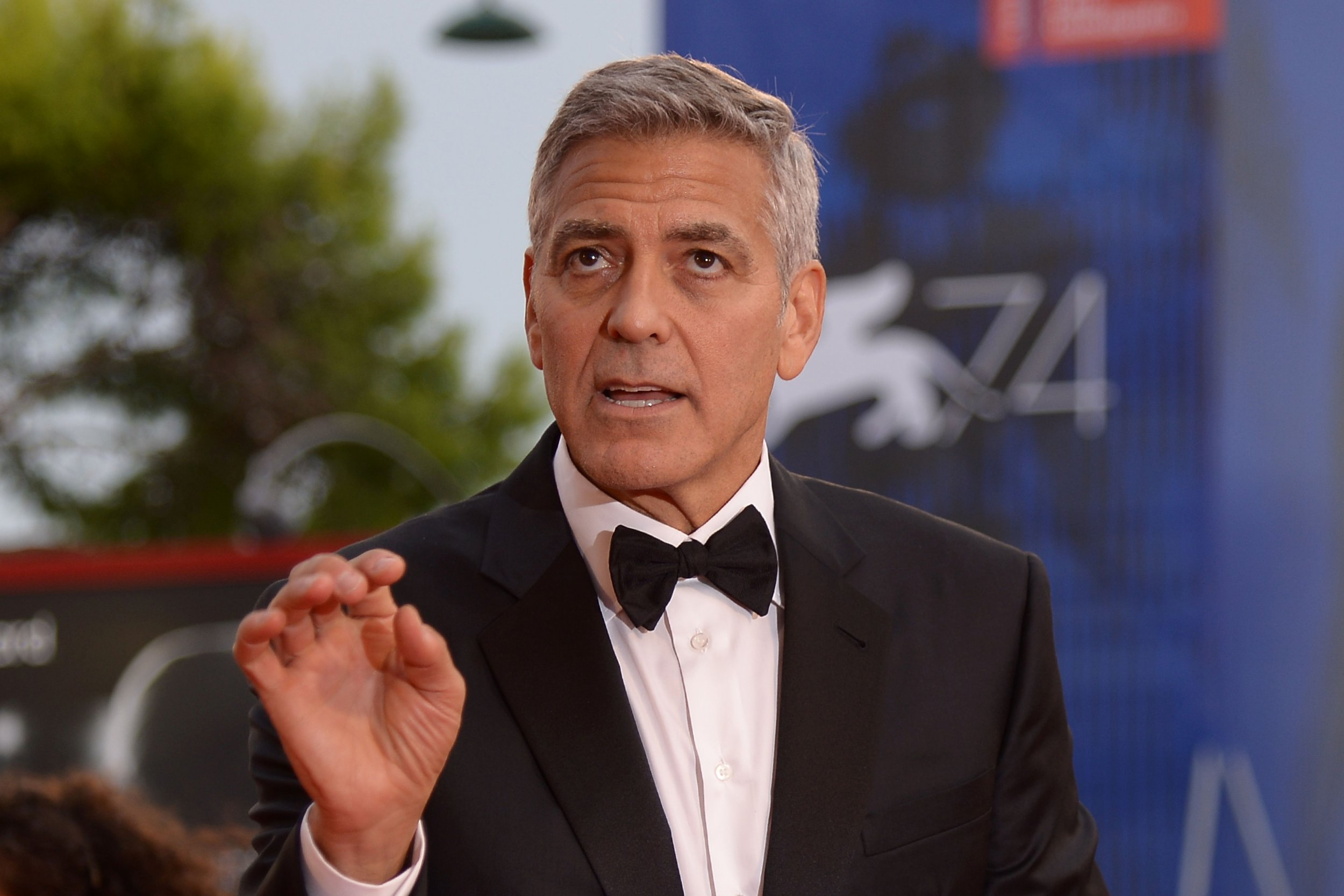 george clooney bannon insults 09-09-17