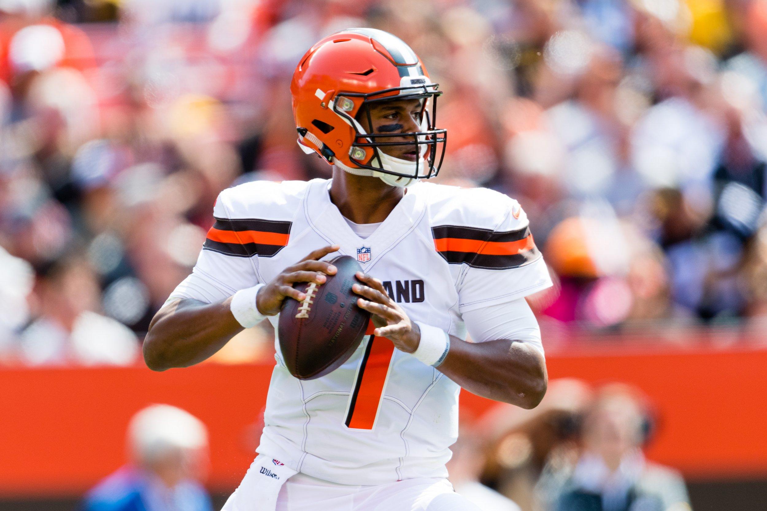 Cleveland Browns rookie quarterback DeShone Kizer.