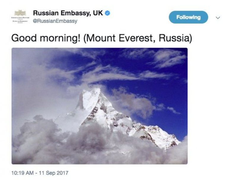 mount everest russia