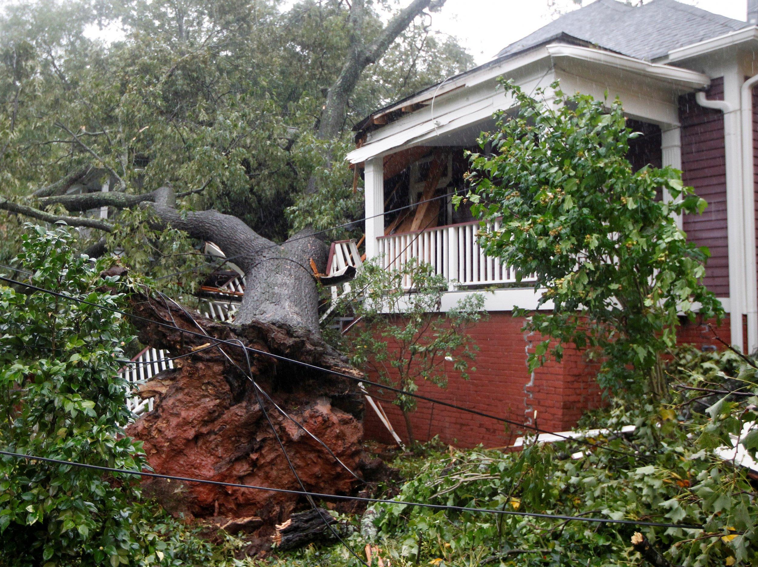 Irma in Georgia