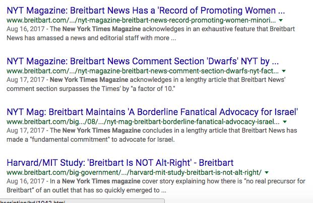 Breitbart News Goes to War for Steve Bannon