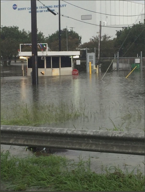 Irma Damage Johnson Training Center