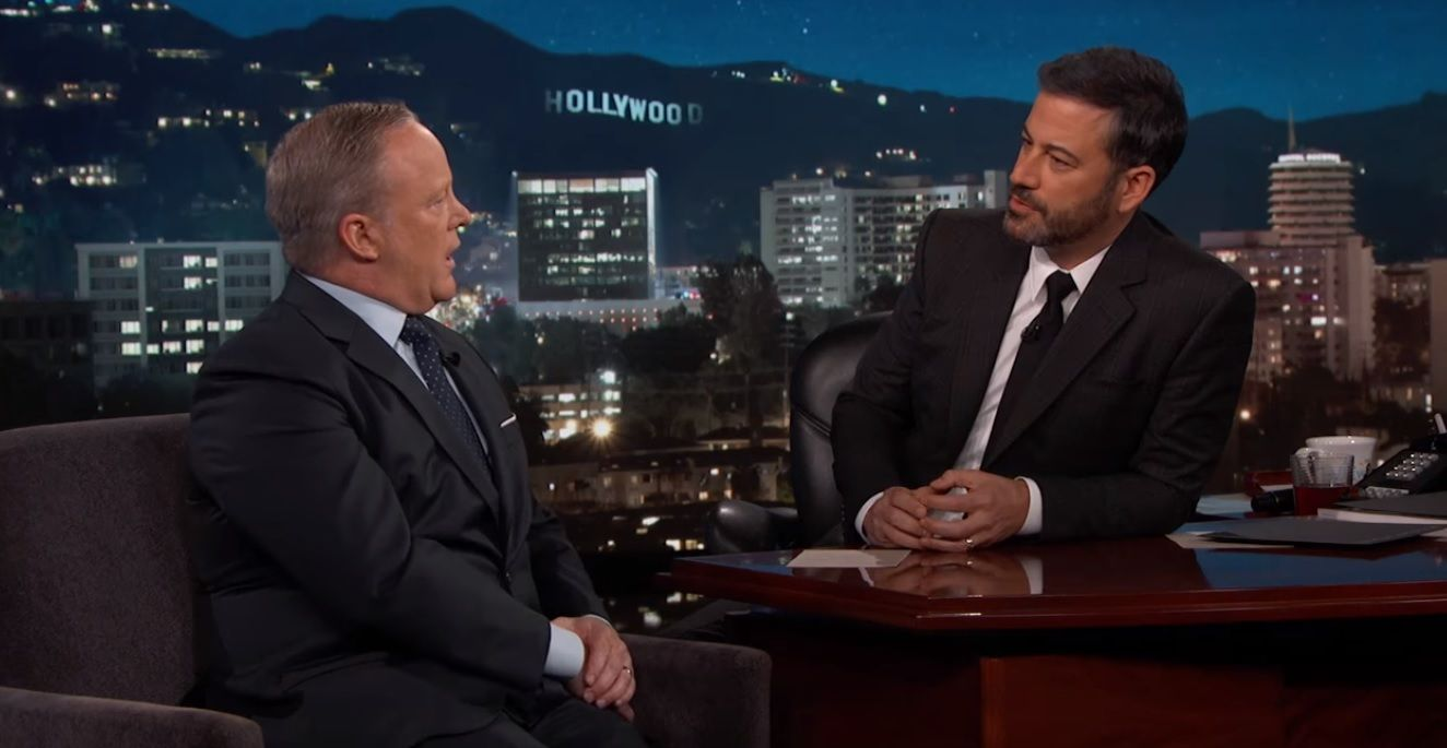 Sean Spicer on Jimmy Kimmel