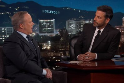 Sean Spicer on Jimmy Kimmel