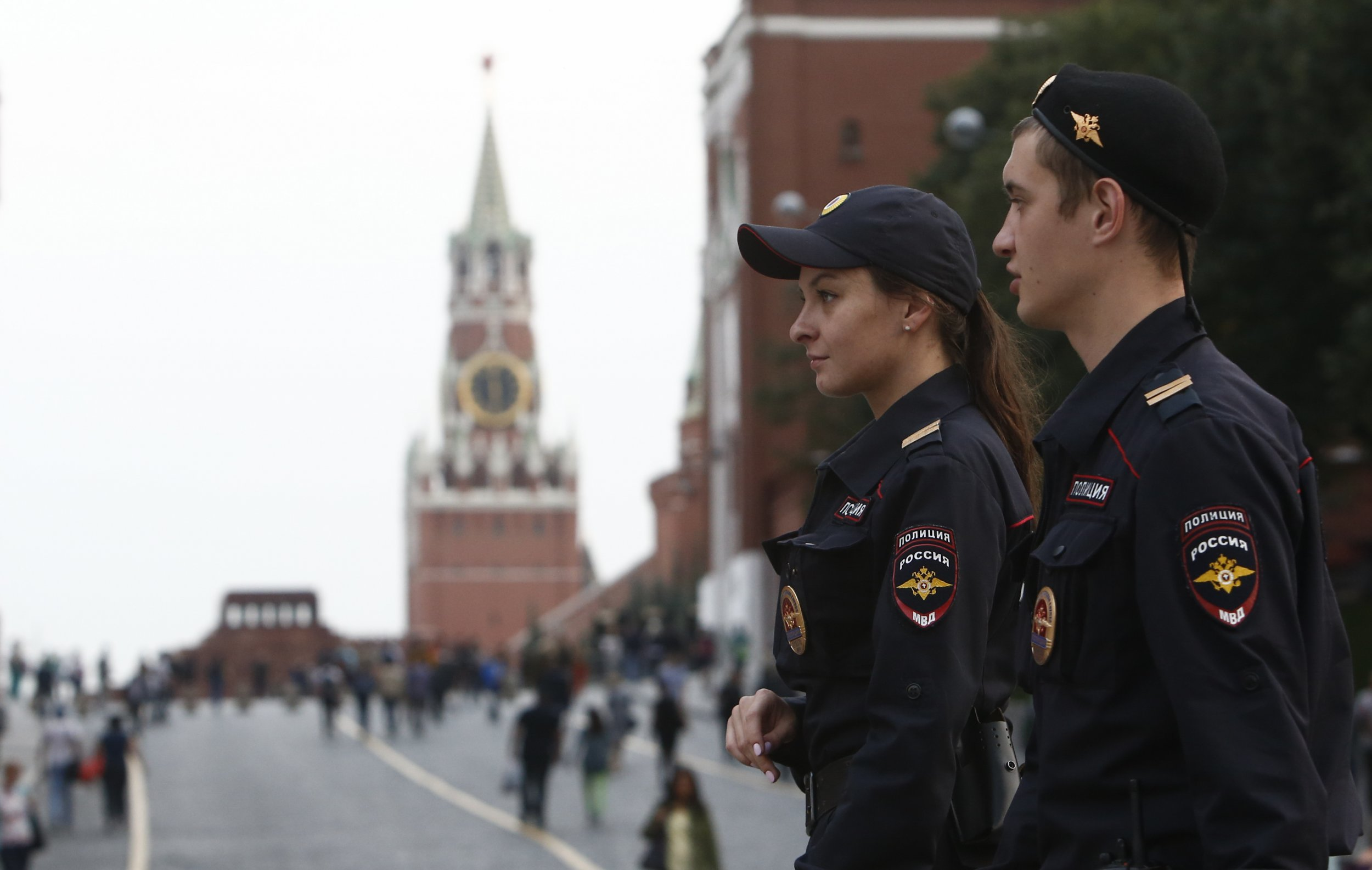 Red Square police