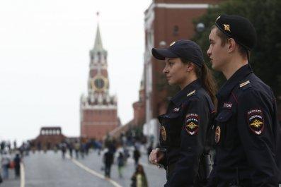 Red Square police