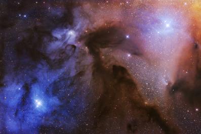 The Rho Ophiuchi Clouds © Artem Mironov (1)