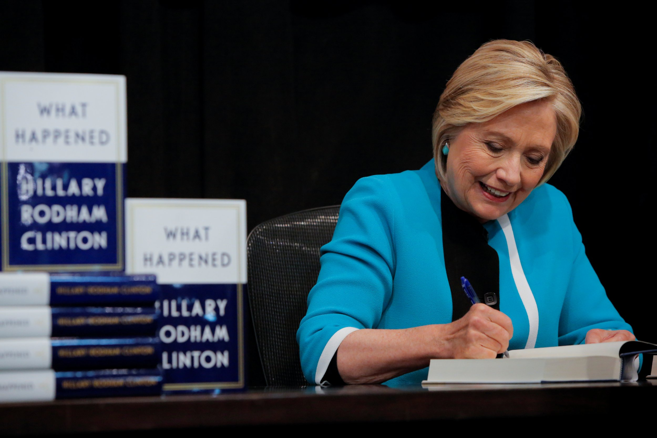 Hillary Clinton used an expletive on TV and Fox News is losing it
