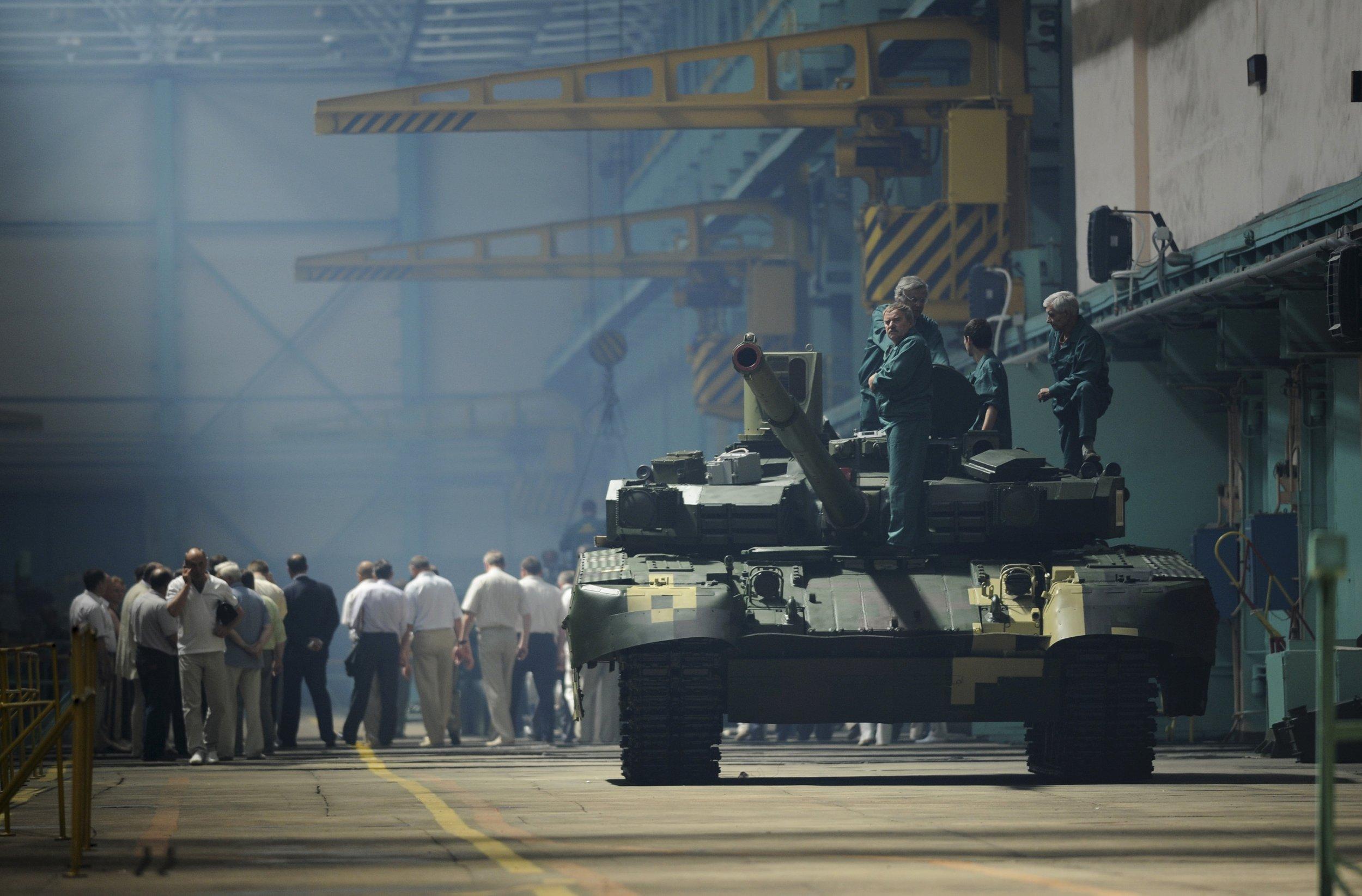 Oplot tank