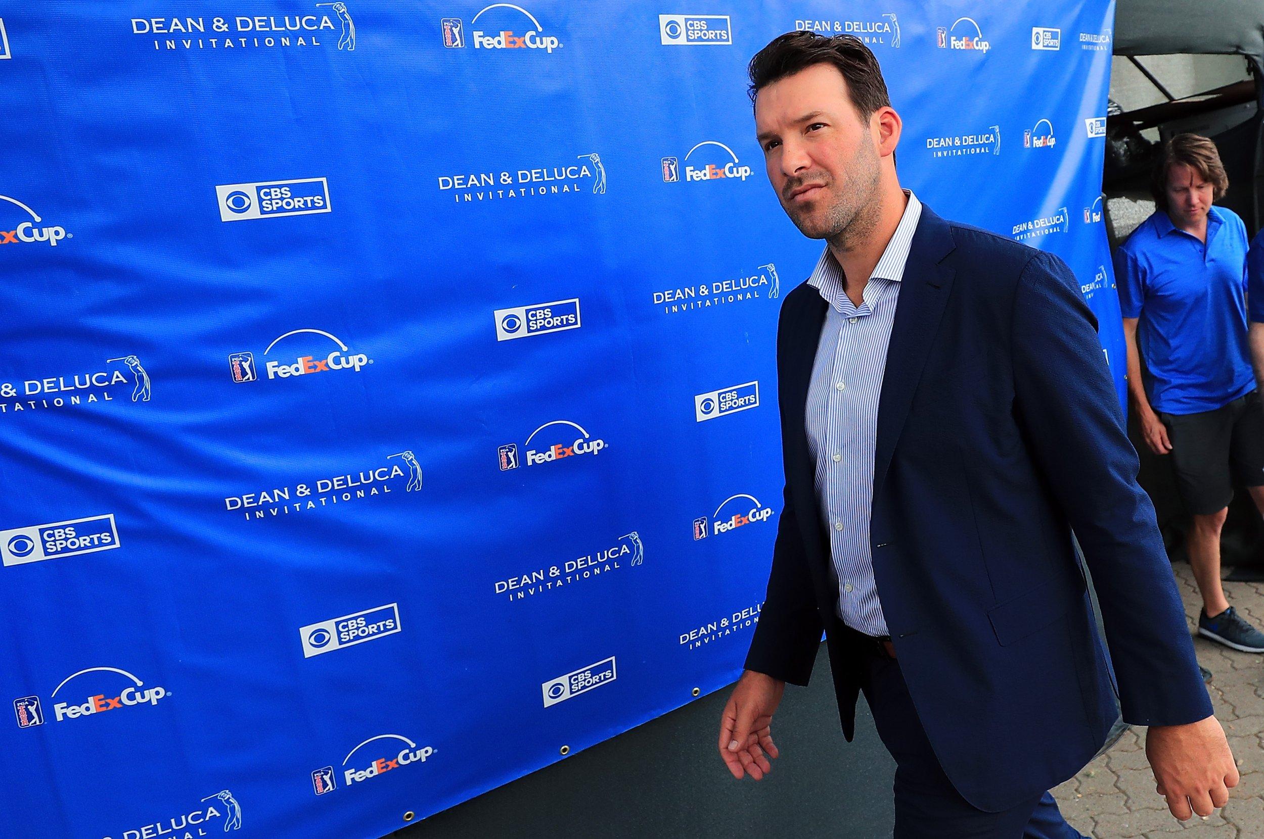 Former Dallas Cowboys quarterback Tony Romo.