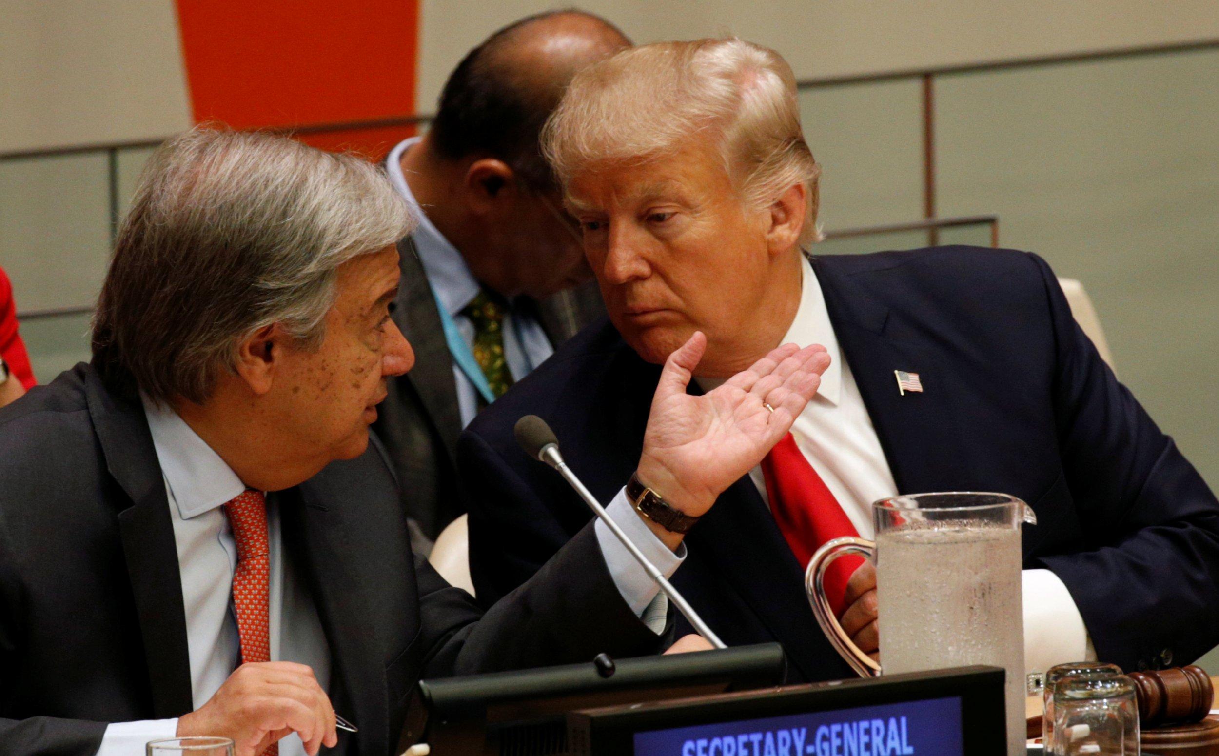 Donald Trump At U.N.