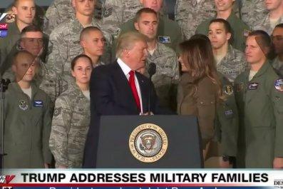 Kimmel mocks Trump and Melania handshake
