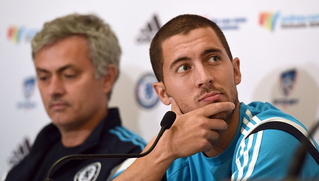 Mourinho and Hazard