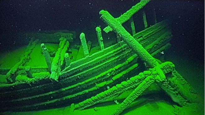 Ancient Shipwrecks Discovered at Depths of Black Sea's ...
