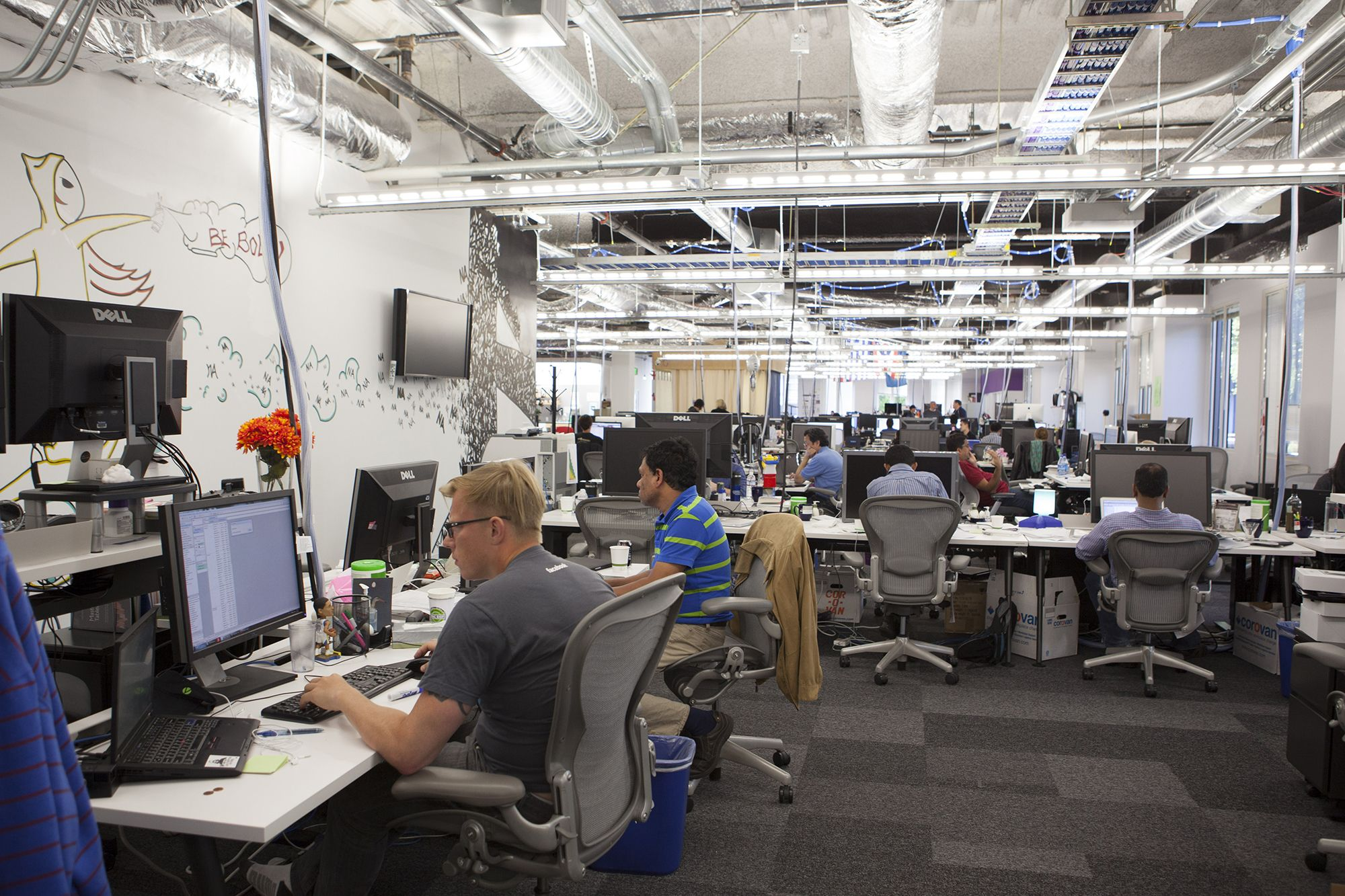 facebook office usa. Facebook Office Usa. Scenes Of Daily Work And Life At , Inc. Usa A