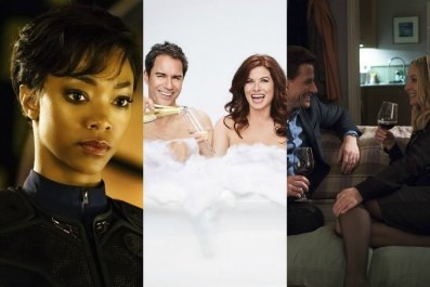 Fall TV preview: Star Trek and Will & Grace