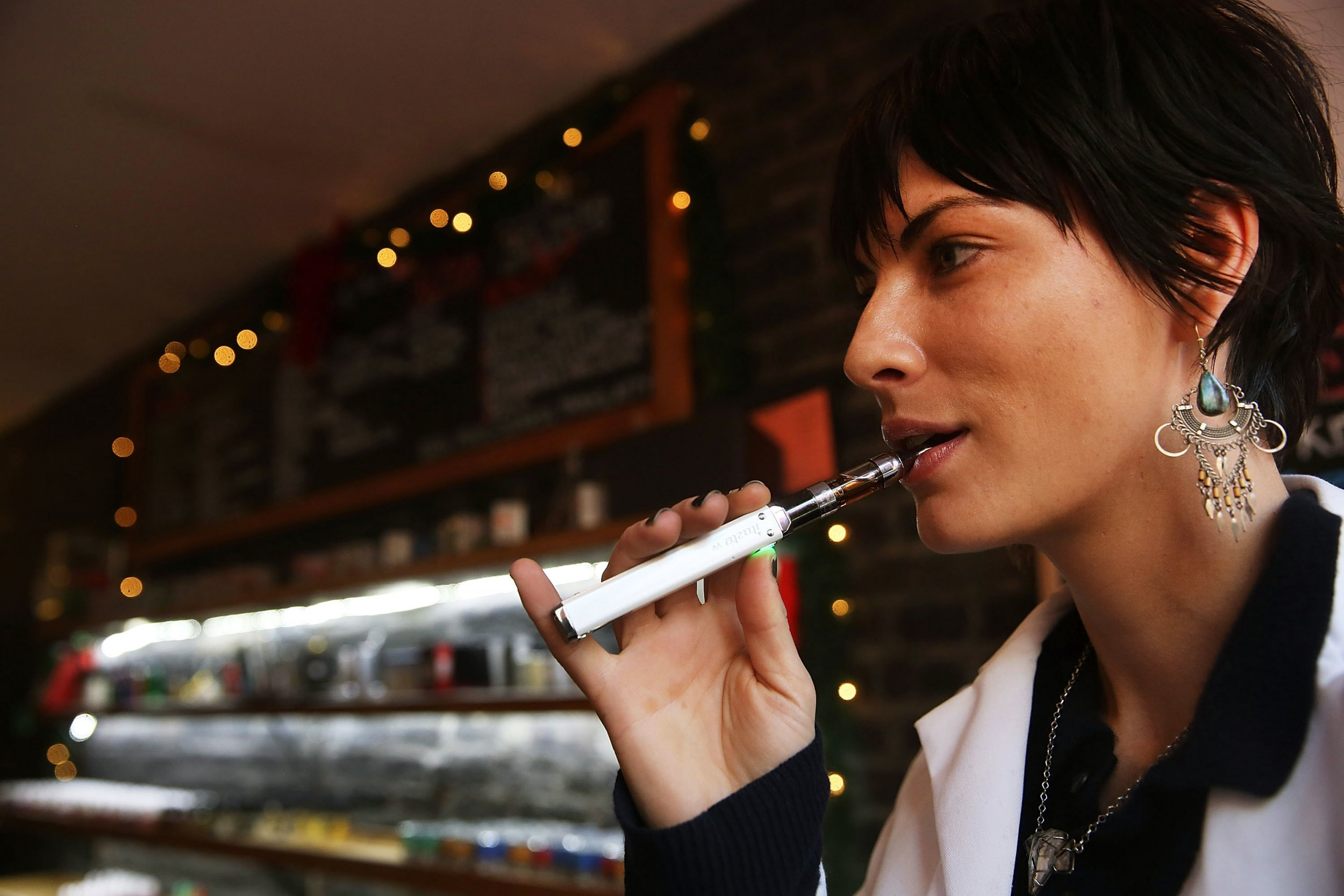 Puffing Just One E-Cigarette With Nicotine Can Damage Your Heart