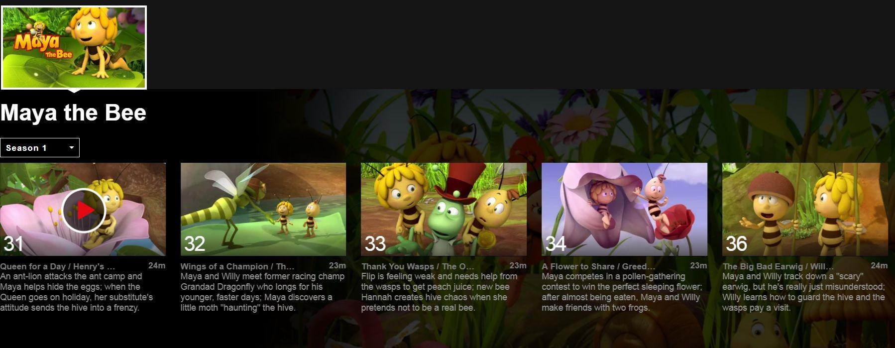 Netflix's Maya the Bee episode containing penis drawing