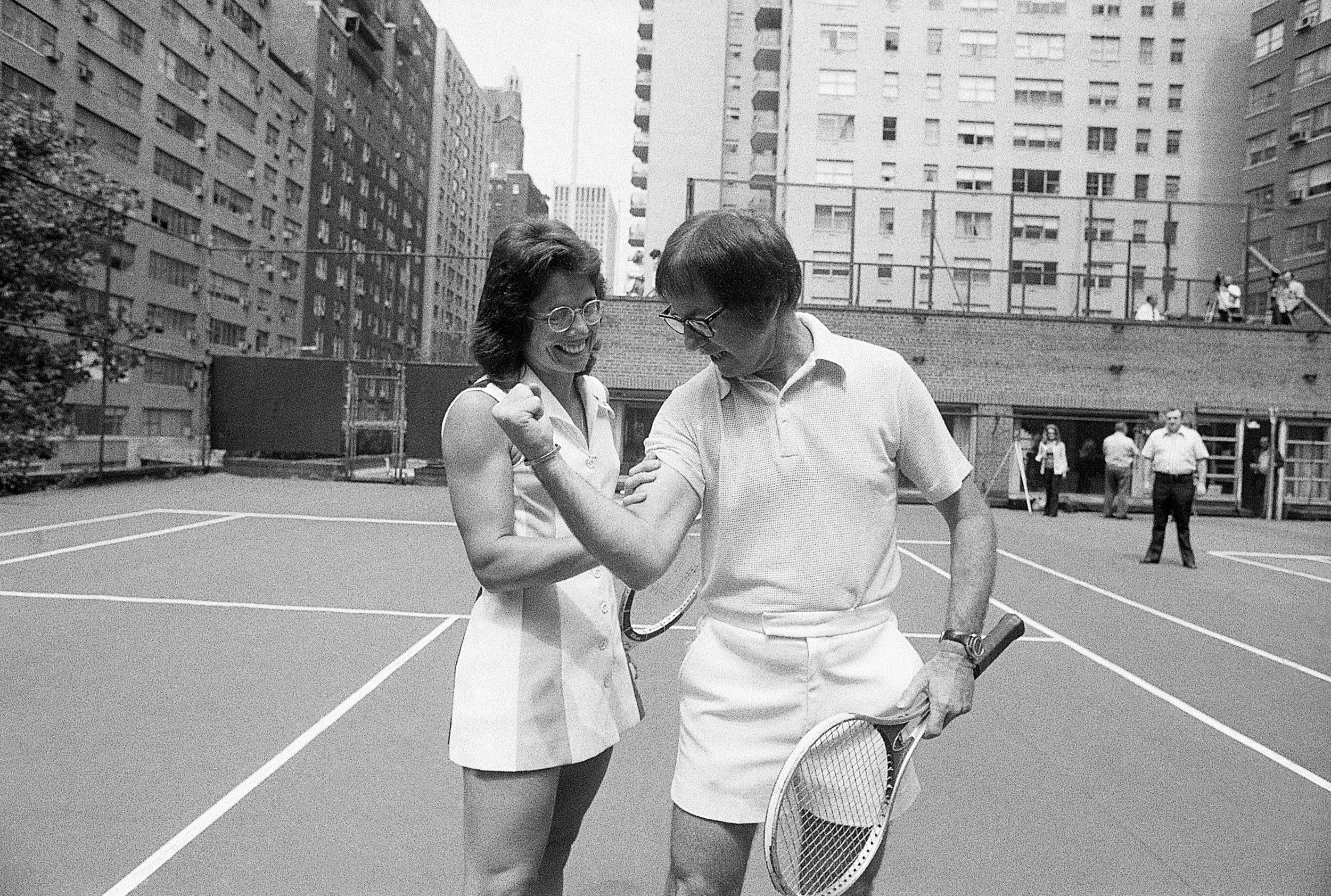Battle of the sexes tennis pics 91