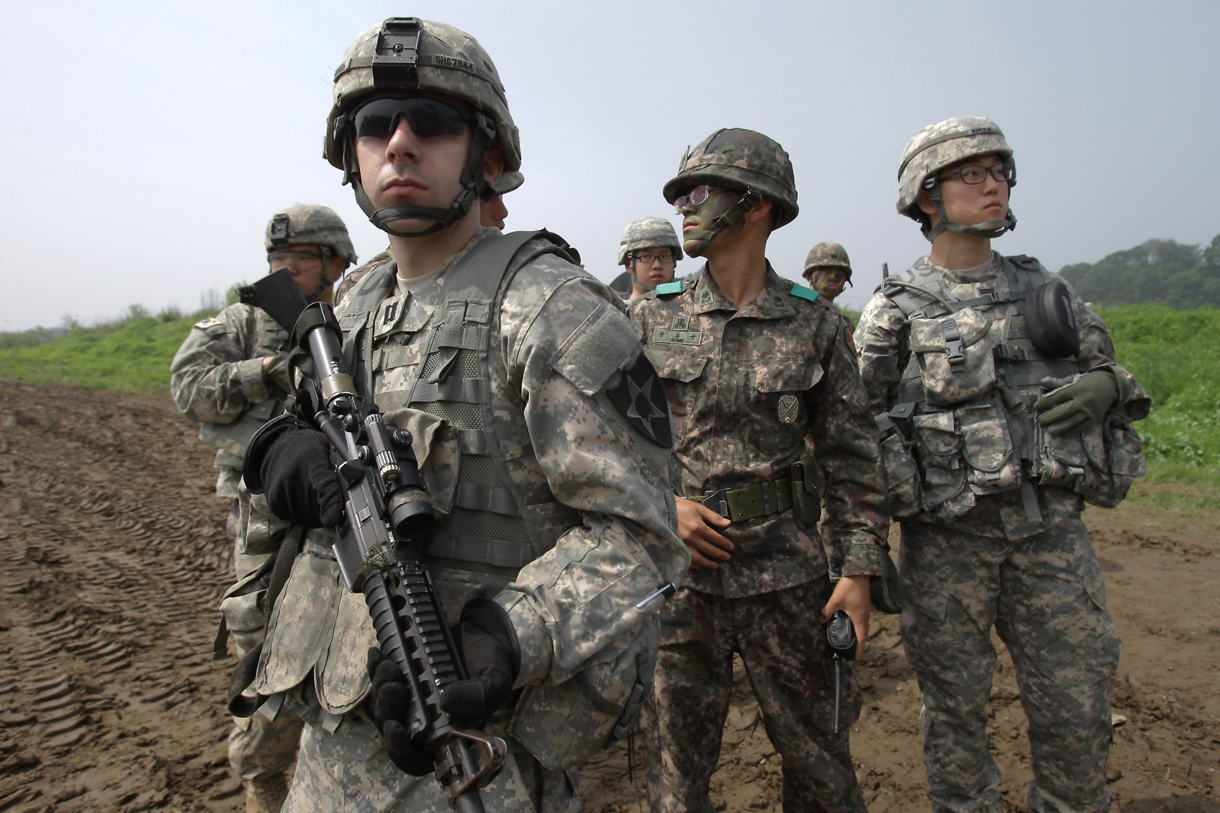 USA troops get 'false order' to leave South Korea