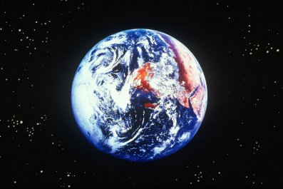Earth, from space