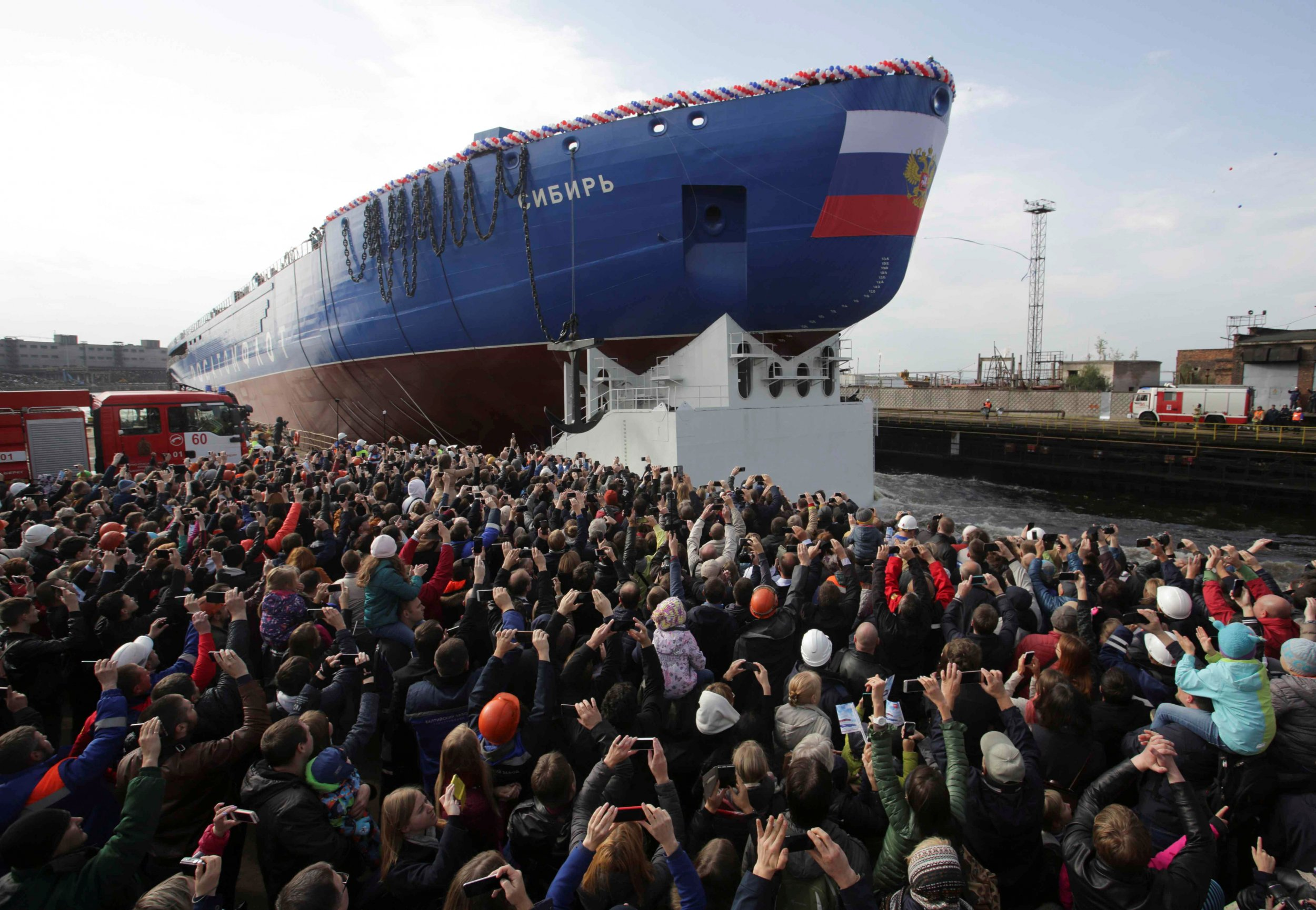Russia Leads World With New Nuclear Icebreaker Ship, Putin's