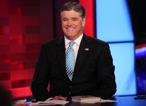 Sean Hannity Vapes Cigarettes While Working Because He Is a