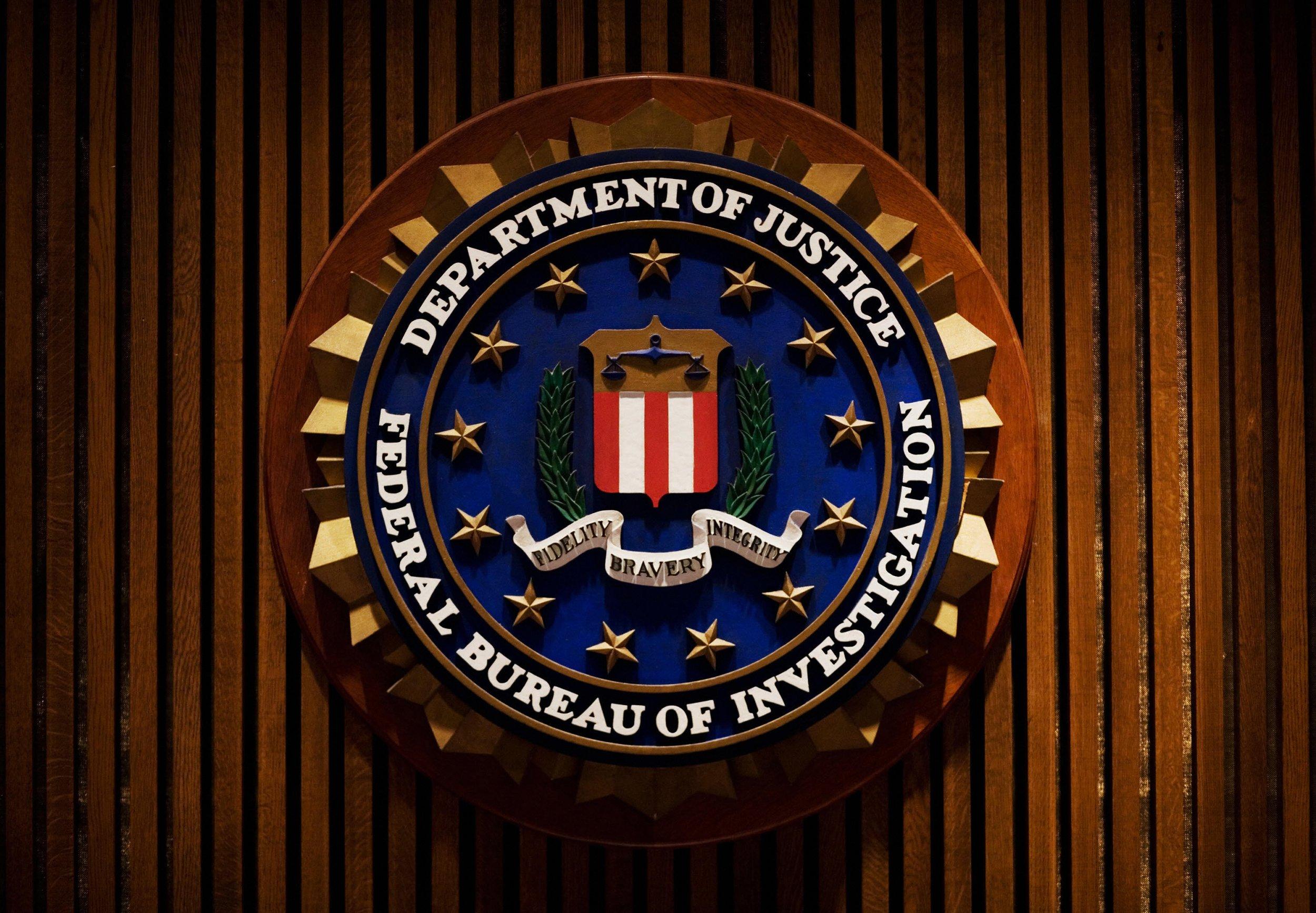 FBI DOJ Department of Justice
